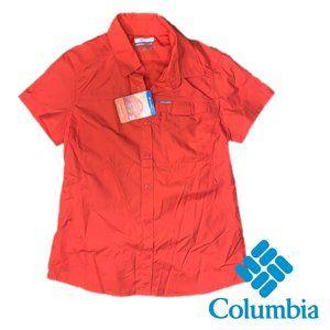 🍃2/$20🍃Columbia Women's Silver Ridge S/S Shirt